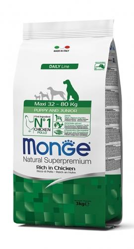 Monge Maxi Puppy & Junior 3 kg