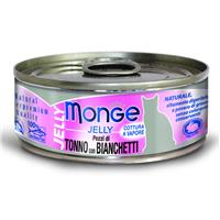 Monge Cat Jelly - Tuna & Girice 80g