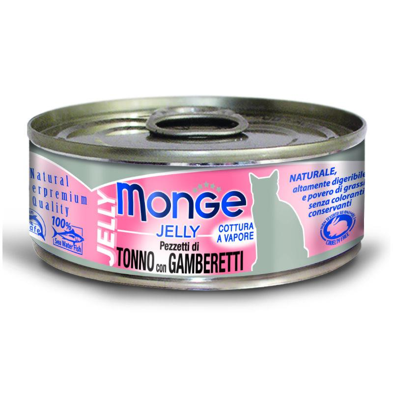 Monge Cat Jelly - Tuna & Rakci 80g