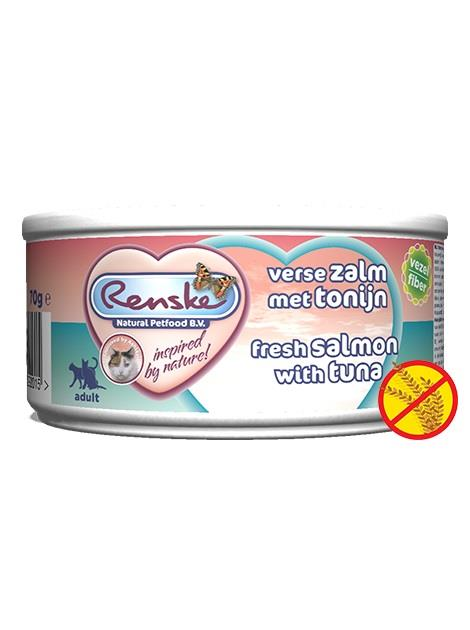 Renske cat tin tuna&salmon 70g